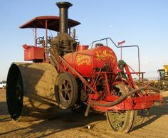 1890's Steam 3 Wheel Tractor