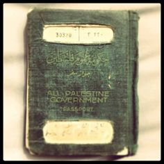 The Palestinian passport before the Nakba. Dont tell us we never existed.