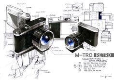 M-Tro Camera by Juan Lee, via Behance