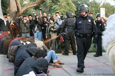 """Sometimes, When """"All the Facts are In,"""" It's Worse: The UC-Davis Pepper-Spray Report.  You probably weren't aware that the protesters warned the university that they were going to be protesting two weeks in advance, were you? The campus, and campus police, had two weeks' notice to plan for this, and yes, on day one, one question they addressed was, """"What if the protesters set up an Occupy encampment?"""""""
