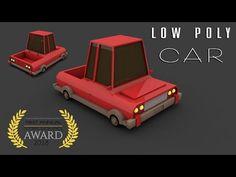 Cinema 4D Tutorial | Low Poly Car #02 | Professional Poly Modeling - YouTube Cinema 4d Tutorial, 3d Tutorial, Low Poly Car, Car 3d Model, Excellence Award, Blender 3d, Stop Motion, 3d Design, Concept