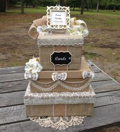 Fall Wedding Card Box Burlap Rustic Wedding Card Holder,Custom Card Box,Handmade,Wedding Box,Wedding Gift Box,burlap wreath,favor