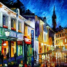 Leonid Afremov The Dream Of The Soul oil painting reproductions for sale