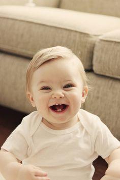 Porq sem dentinhos é ainda mais cute *-----*