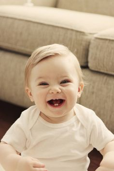 Who wouldn't want a simple happy picture like this?!  So easy.