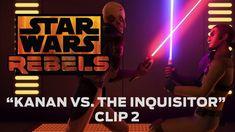 "Star Wars Rebels: ""Kanan vs. The Inquisitor"" Clip 2. #StarWars #StarWarsRebels"