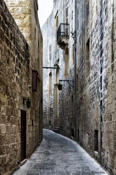 Medieval alley by Malte W on 500px