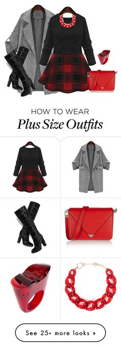 """outfit 2907"" by natalyag on Polyvore featuring Tom Ford, Alexander Wang, DIANA BROUSSARD and Pasionae"