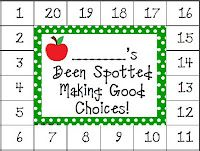 Behavior punch card, for every good thing they do you punch a ...