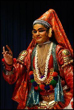 Cochin (Kochi) Photo / Foto Kerala India katakali actores, la expresión facial mas entrenada de mi vida