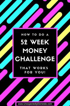 Fifteen 52 Week Money Saving Challenges (something for every budget!) Check out these 52 week money saving challenges! No matter your budget, these weekly, biweekly, or monthly savings plans will work! Printable template too! Weekly Savings Plan, 52 Week Savings, Monthly Budget, 52 Week Money Challenge, Savings Challenge, Monthly Challenge, 52 Week Saving Plan, Money Saving Tips, Planer