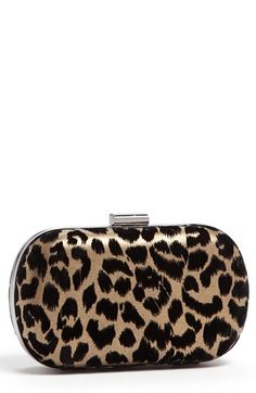 Menbur Leopard Print Minaudiere available at #Nordstrom