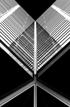 Best Ideas For Architecture and Modern Design : – Picture : – Description Triangles by Greetje van Son Pattern Photography, Abstract Photography, Modern Design Pictures, Architecture Design, Design Moderne, Light And Shadow, Triangles, Black And White Photography, Photo Art