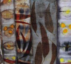 Bundle dyeing. Ann Stepens