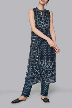 Ladies Bottoms - Buy Mirai Pants for Women Online - - Anita Dongre Urban Fashion, Womens Fashion, Indian Designer Suits, Embroidery Suits Design, Anita Dongre, Luxury Wedding Dress, Embroidered Clothes, Indian Wedding Outfits, Kurta Designs