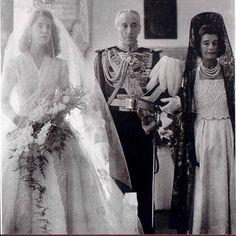 First wedding to Don Pedro Luis Martinez de Irujo y Artacoz, 1947