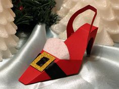 CHRISTMAS HOLIDAY SANTA Party Stiletto High Heel by shadow090109, $3.99
