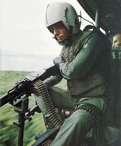 Vietnam patrol - the soldier nearest the camera is carrying ammo for the M-60 machine gunner in front of him. Description from pinterest.com. I searched for this on bing.com/images