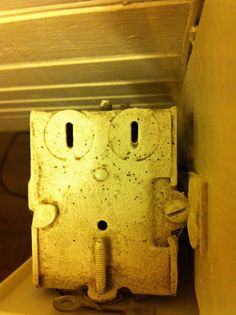 Top view of power outlet box by thentoff, via Flickr