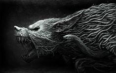 3D Fantasy Art Wallpaper | Werewolf « Animals « wallpapersfor.me