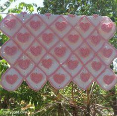 ideas for crochet heart granny square blanket Crochet Heart Blanket, Crochet Baby Hats, Crochet Squares, Free Crochet, Irish Crochet, Crochet Blankets, Crochet Hearts, Crochet Afghans, Crochet Granny