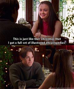oh, Rory. Haha.