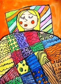 Artsonia Art Gallery - Gustav Klimt blankets