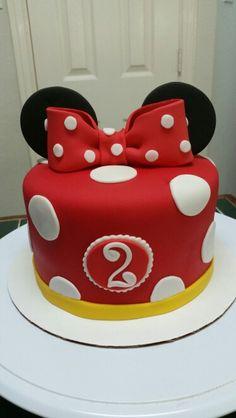 Amy's Crazy Cakes - Minnie Mouse Smash Cake