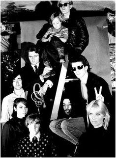 Andy Warhol, Nico, and The Velvet Underground