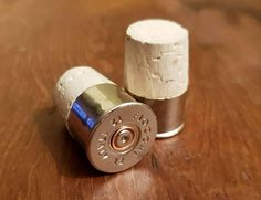 Check out this item in my Etsy shop https://www.etsy.com/uk/listing/544285088/12g-shotgun-cartridge-wine-bottle
