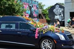 Muhammad Ali Memorial Funeral Procession through streets of Louisville