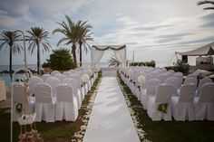 Wedding blessing Ceremony with beautiful sea views.