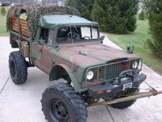 502 Chevy Crate Power: Wild 1968 Jeep M715 Build | Bring a Trailer