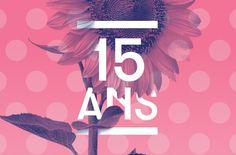 Festival Papillons de Nuit Typography Logo, Logos, Logo Design, Graphic Design, Festivals 2015, Branding, Layouts, Flora, Poster