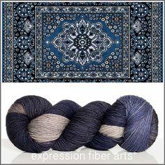 Expression Fiber Arts, Inc. - PERSIAN CARPET MERINO YAK SILK SOCK YARN, $32.00 (http://www.expressionfiberarts.com/products/persian-carpet-merino-yak-silk-sock-yarn.html)