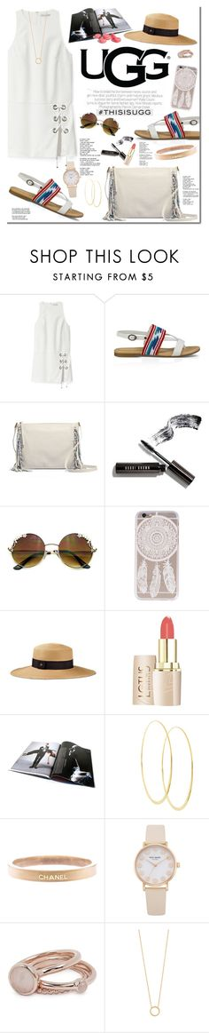 """Play With Prints In UGG: Contest Entry"" by oshint ❤ liked on Polyvore featuring Rebecca Minkoff, UGG Australia, Bobbi Brown Cosmetics, Lana, Chanel, Lola Rose, Jennifer Zeuner and thisisugg"