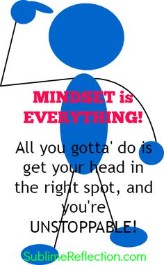 Changing Your Mindset is the key to Successful Weight Loss. Lots of great mindset articles!