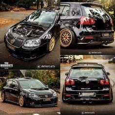 Mk5 GTI ❤ black & gold