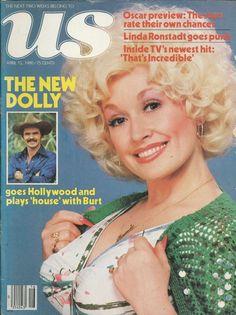US magazine Dolly Parton Burt Reynolds Oscar That's Incredible Stockard Channing