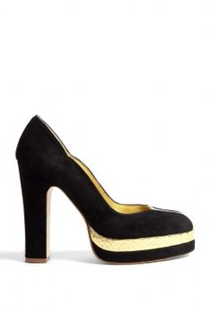 572c2af6733 Adele Gold Panel Court Shoes by Terry de Havilland  PackforParadise Enter  Here  http