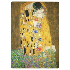 The Kiss (Der Kuss) by Gustav Klimt. Poster The Kiss by Gustav Klimt Art Print Poster Kiss Painting, Painting Prints, Abstract Paintings, Oil Paintings, Art Klimt, The Kiss, Framed Art Prints, Poster Prints, Art Nouveau