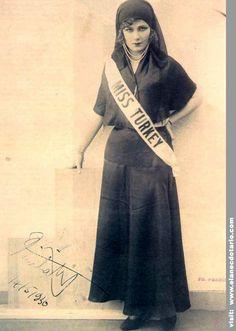 Miss Universo 1932 - Keriman Hallis - Turquia