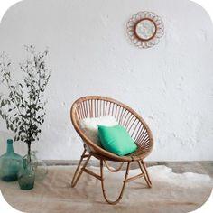 1000 id es sur le th me fauteuil boule sur pinterest transat fauteuil desi - Fauteuil boule rotin ...