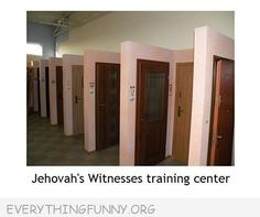 Jehovah's Witnesses training center......  Lol! I am a JW, found this hysterical!