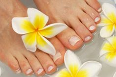 Home Pedicure Foot Soak- Here's a great way to start your home pedicure. Dissolve 3 tablespoons of ARM & HAMMER™ Baking Soda in a basin of warm water and soak feet. Then, gently scrub with a paste of ARM & HAMMER™ Baking Soda.