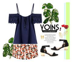 """Yoins"" by gabyidc ❤ liked on Polyvore featuring Magdalena, NARS Cosmetics, Ileana Makri, yoins, yoinscollection and loveyoins"