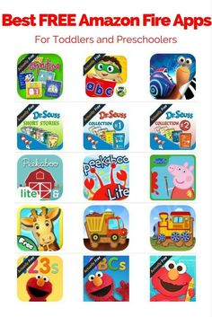 Are you looking for the best FREE Amazon Fire tablet apps for your toddler or preschooler? Check our favorite free Fire apps for kids!
