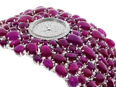 DeLaneau Grace Ruby jewellery watch, shortlisted for the Jewellery Watch award.