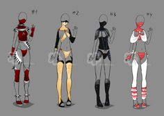 Some Outfit Adopts #10 - sold by Nahemii-san.deviantart.com on @deviantART