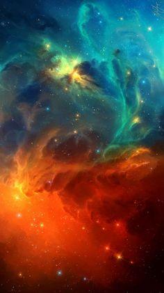 The Cool Blue Nebula Series1